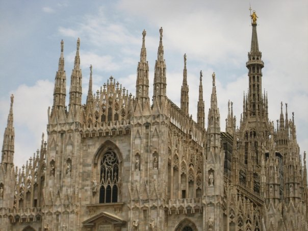 Il Duomo -- the 3rd largest church in the world