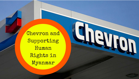 Chevron and Supporting Human Rights in Myanmar