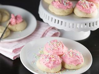 RECIPE: My Nana's Frosted Vanilla Cookies