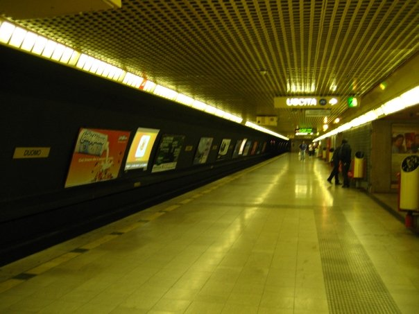 the Milano underground