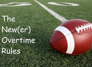 The NFL's New(er) Overtime Rules