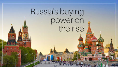 Russia's Buying Power On the Rise