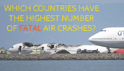 Which Countries Have the Highest Number of Fatal Air Crashes?