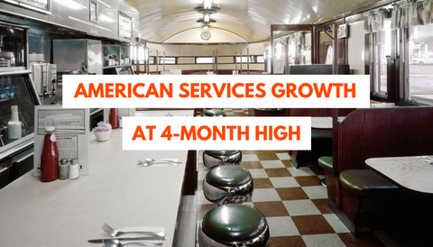 American Services Growth at 4-Month High