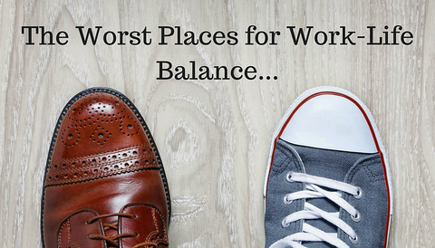 The Worst Places for Work-Life Balance