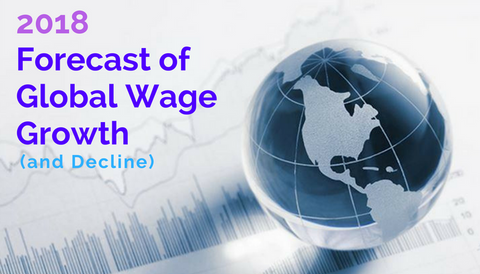 2018 Forecast of Global Wage Growth (and Decline)
