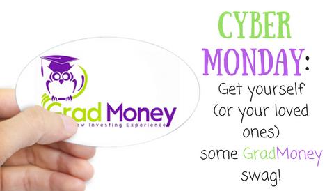 Cyber Monday: Buy GradMoney Swag!