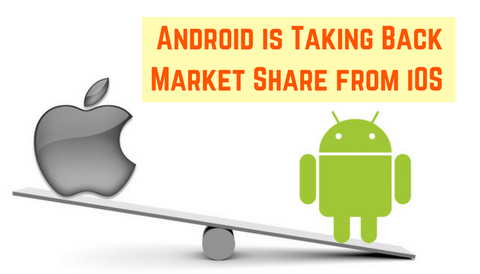 Android is Taking Back Market Share from iOS