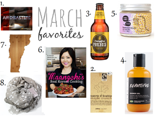 My MARCH 2016 Favorites