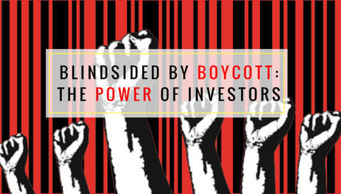 Blindsided by Boycott: The Power of Investors