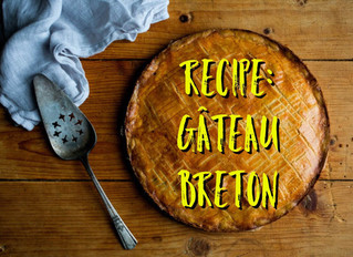 RECIPE: Gâteau Breton