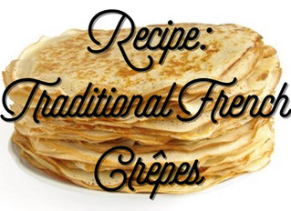 RECIPE: Traditional French Crêpes