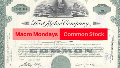 Macro Mondays: Common Stock