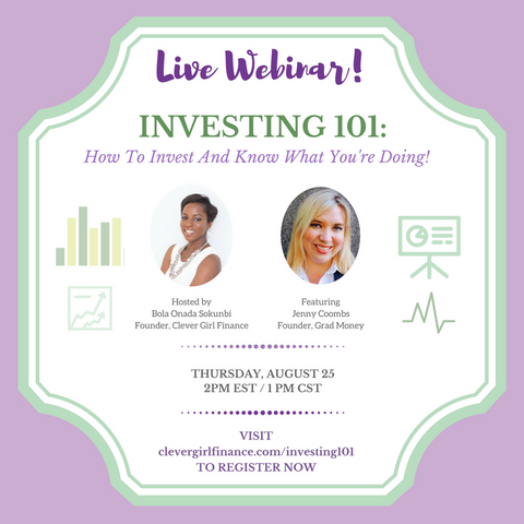 FREE Webinar: Investing 101 How To Invest & Know What You're Doing