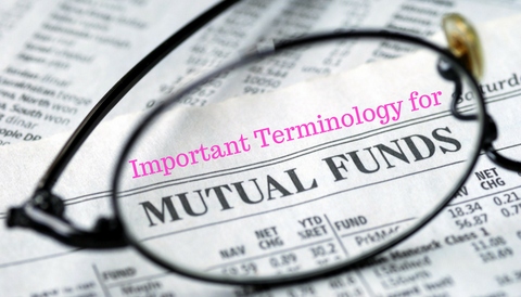 Important Terminology for Mutual Funds