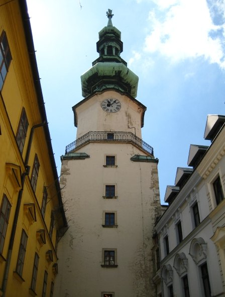 Saint Michael's Gate -- the narrowest gate in Europe