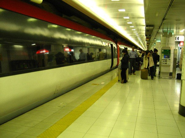 the Narita Express (i.e