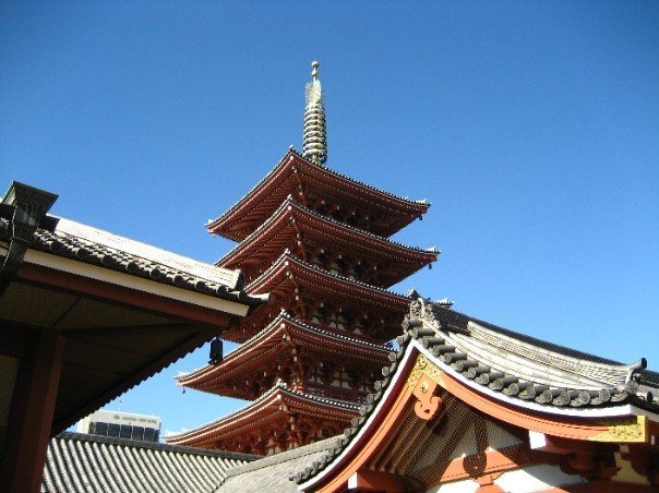 the 2nd largest pagoda in Japan