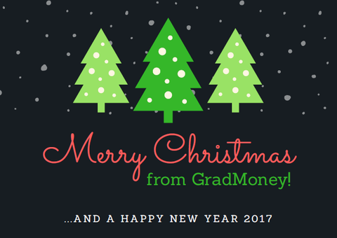 Merry Christmas from GradMoney!