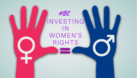 #TBT: Investing in Women's Rights