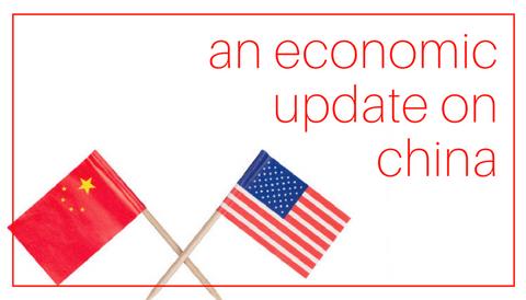 An Economic Update on China