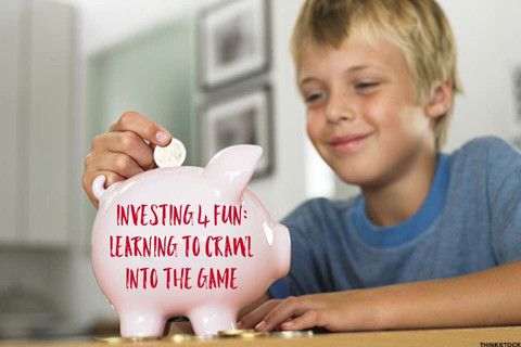 """""""Investing 4 Fun"""": Learning to Crawl Into the Game"""