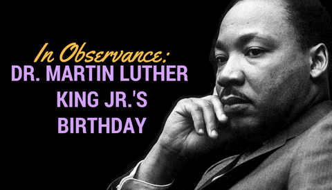 Market Holiday: Martin Luther King Jr.'s Birthday