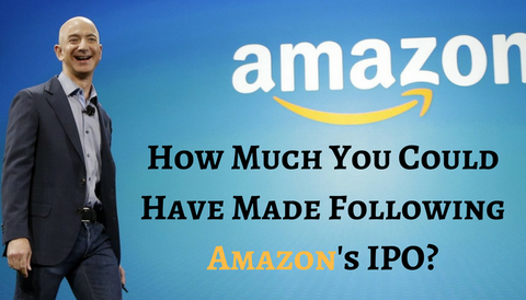 How Much You Could Have Made Following Amazon's IPO?