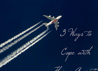 3 Ways to Cope with Flying Anxiety