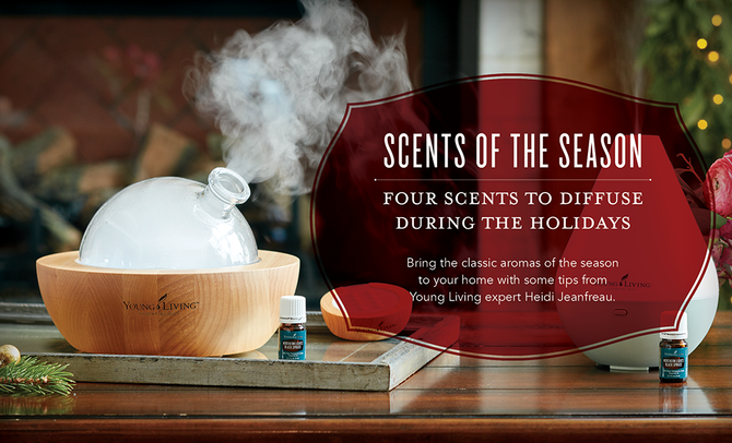 Scents of the Season: Four Scents to Diffuse During the Holidays