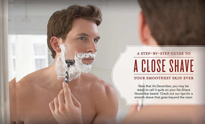 A Close Shave: A Step-by-Step Guide to Your Smoothest Skin Ever