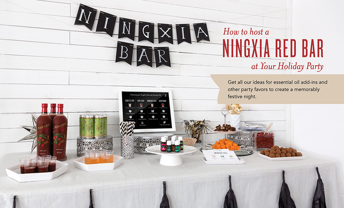 How to Host NingXia Red Bar at Your Party