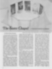 "Orenstein, Gloria Feman. ""The Sister Chapel—A Traveling Homage to Heroines."" Womanart 1, no. 3 (Winter/Spring 1977): 12–21."