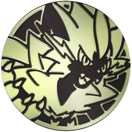 Black & Gold Clear Zeraora Coin