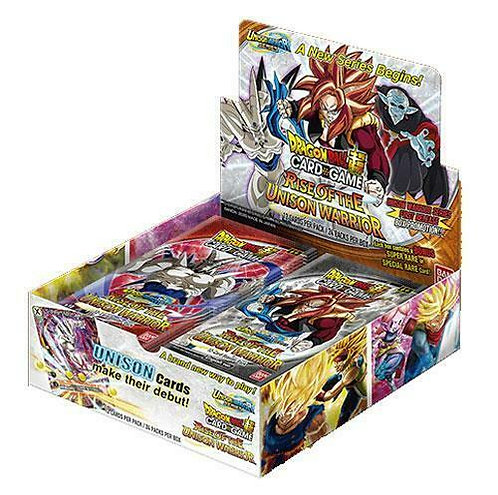 Dragon Ball Super TCG: Rise of the Unison Warrior Sealed Booster Box