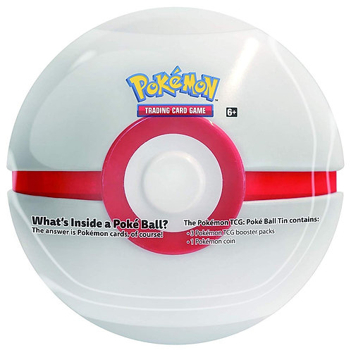 Pokémon Trading Card Game: Poké Ball Tin Summer 2020 (Premier Ball)