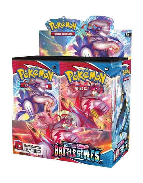 **WAVE 2** Battle Styles Booster Box PREORDER