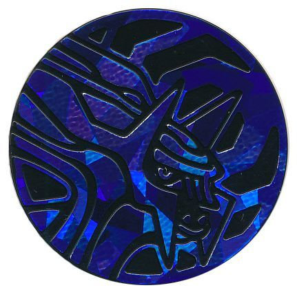 Pokemon Dialga Collectible Coin (Blue Cracked Ice Holofoil)
