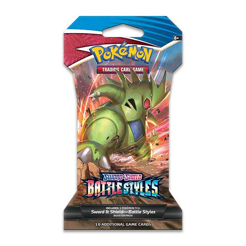 Battle Styles Sleeved Booster Pack (1)