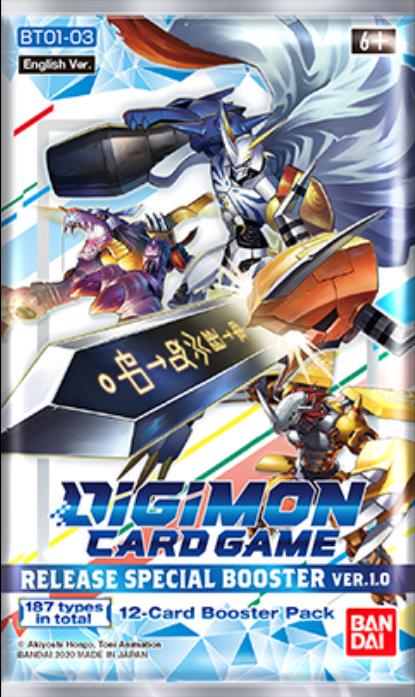 Digimon Card Game 1.0 Booster Pack **BREAK**