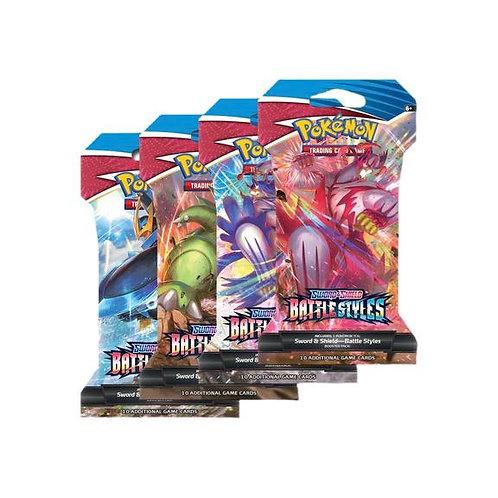 Battle Styles Sleeved Booster Pack Art Set