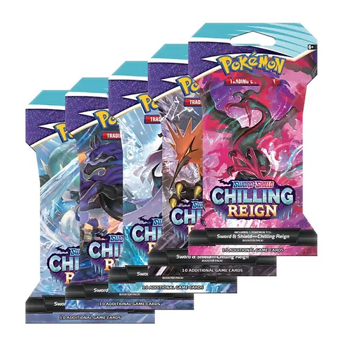 Chilling Reign Sleeved Booster Pack (1)