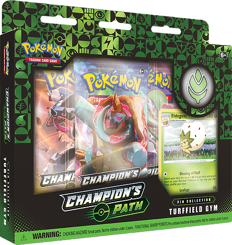 Champions Path Pin Collection : Turffield Gym