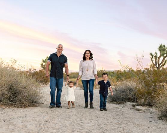 Griffin Family-Joshua Tree National Park