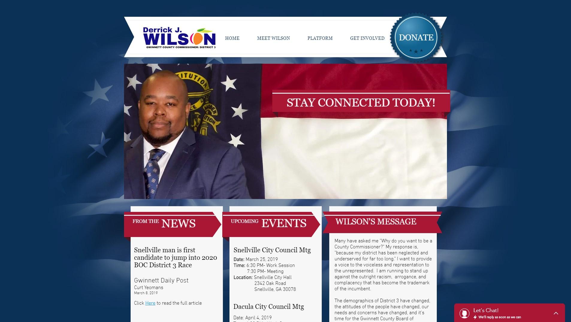 Wilson For Gwinnett 2020