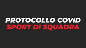 Protocollo COVID attività agonistica (Basket e Volley)