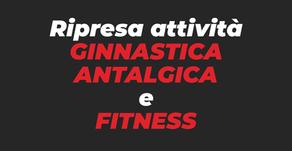 Riprendono i corsi di Ginnastica Antalgica e Fitness