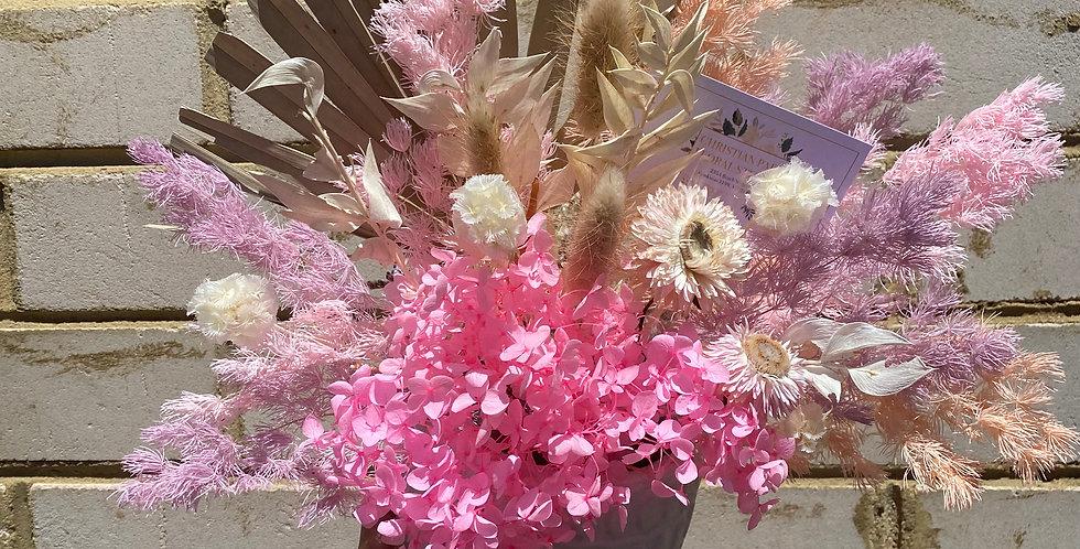 Purple Pink Sky | Small Dried Arrangement