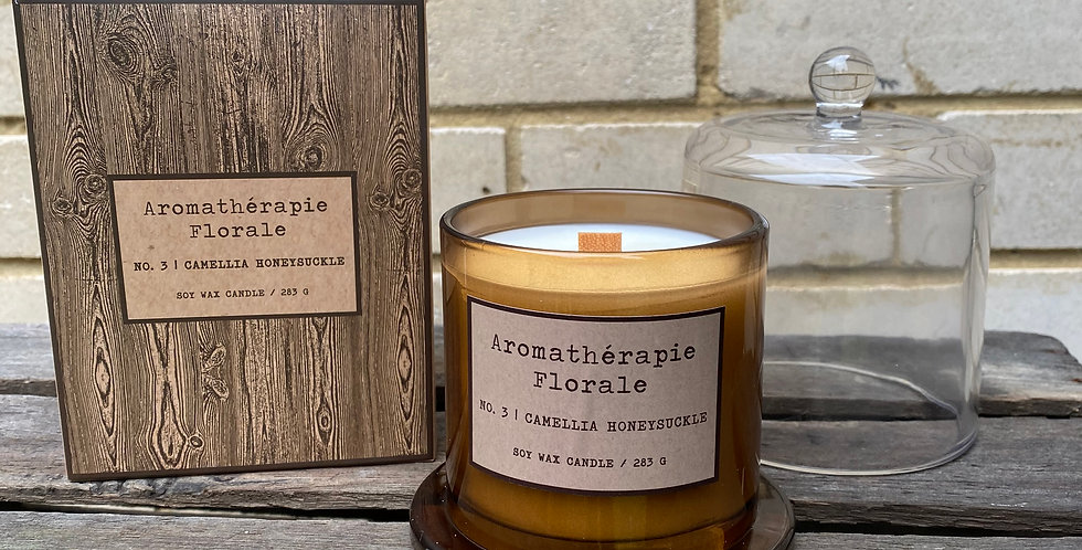 Camelia Honeysuckle Soy Wax Candle