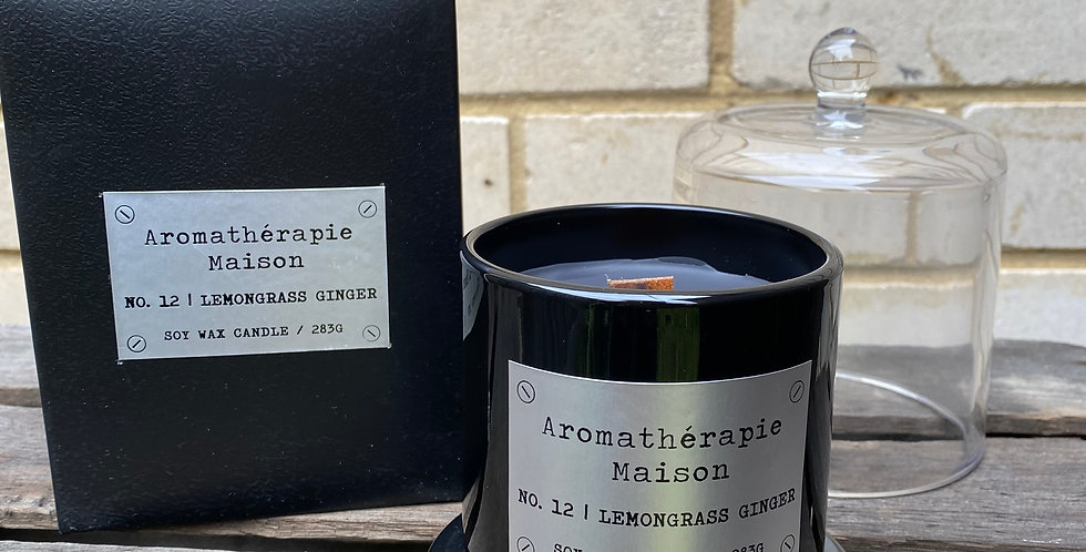 Lemongrass Ginger Soy Wax Candle